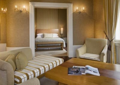 Suite Lounge with Bedview